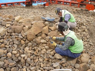 粗礫石清掃工作①.JPG
