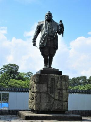 도쿠가와 이에야스 공 동상.JPG