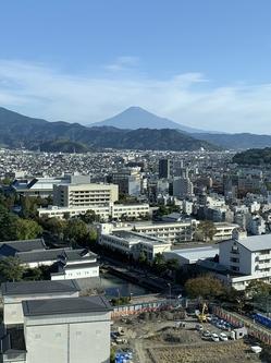 從17樓看的富士山。jpg
