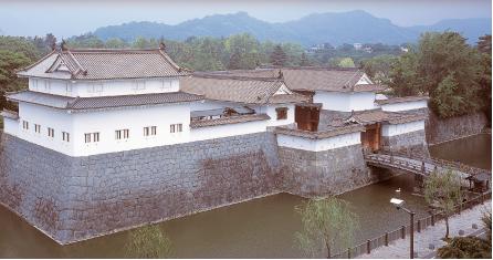 駿府城的東面皇帝和巽櫓