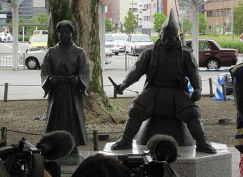 義元公共像(揭幕儀式)。jpg