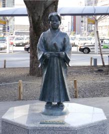 竹千代像静冈站