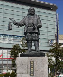 壮年期的家康像静冈站